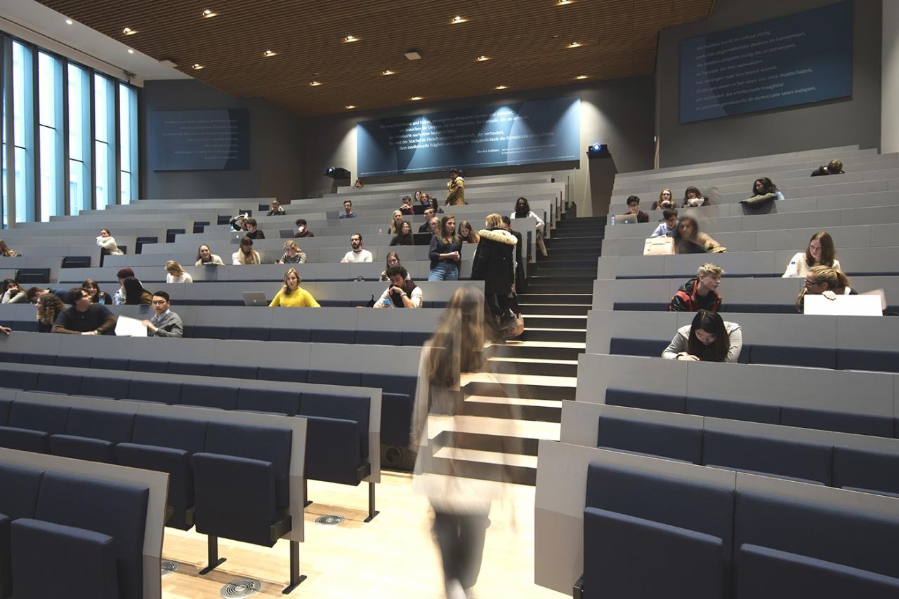 Studio Leon Thier – Campus Den Haag Universiteit Leiden